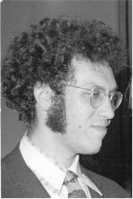 Jim Haber as a young professor